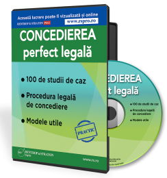 Concedierea perfect legala