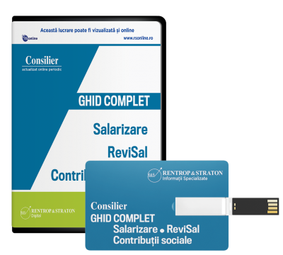 Consilier Ghid complet de Salarizare  ReviSal si Contributii sociale