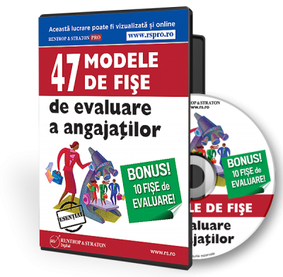 CD 47 Modele de fise de evaluare a angajatilor