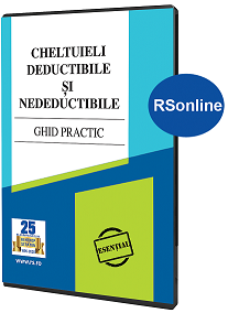Cheltuieli deductibile si nedeductibile  Ghid practic