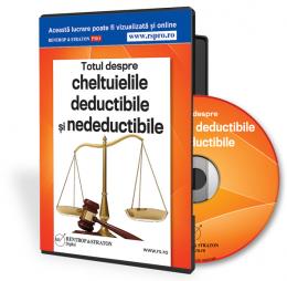 Description: Totul despre cheltuielile deductibile si nedeductibile