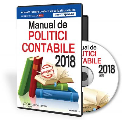 CD Manual de politici contabile 2015