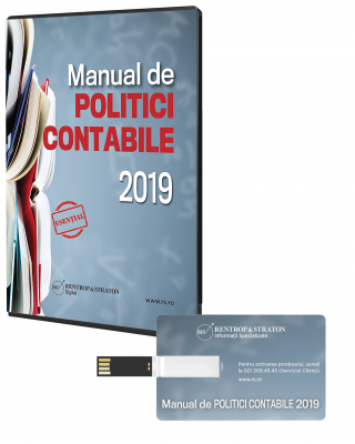 Manual de politici contabile 2019 - Stick USB