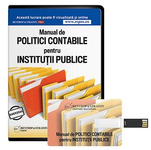 Manual de Politici Contabile pentru Institutii Publice, 2014