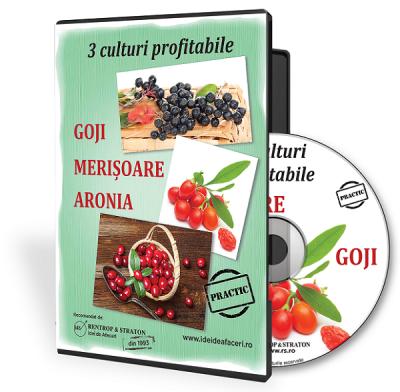 3 culturi profitabile - Goji  Merisoare  Aronia