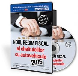 Noul regim fiscal al cheltuielilor cu autovehicule in 2016