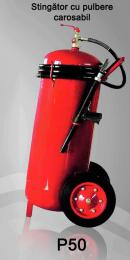 Stingator de incendiu Tip P50