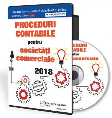 CD Proceduri contabile pentru societati comerciale 2018