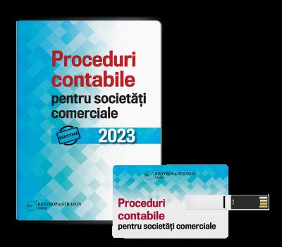 Proceduri contabile pentru societati comerciale - Stick USB