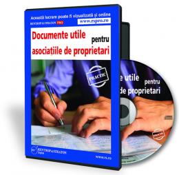 Documente utile pentru asociatiile de proprietari