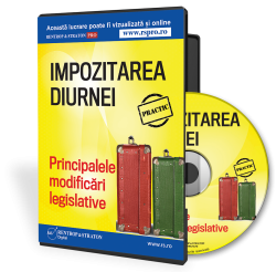 Impozitarea diurnei. Principalele modificari legislative