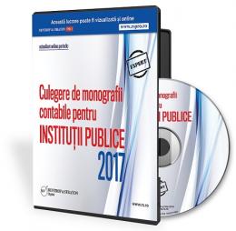 Culegere de monografii contabile pentru institutii publice