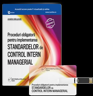 Proceduri obligatorii pentru implementarea Standardelor de Control Intern Managerial