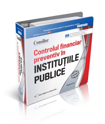 Consilier Institutii Publice Controlul Financiar Preventiv si Curtea de Conturi