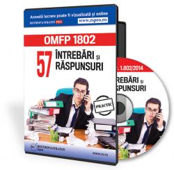 CD O.M.F.P. nr. 1.802 pe 2014. 57 intrebari si raspunsuri