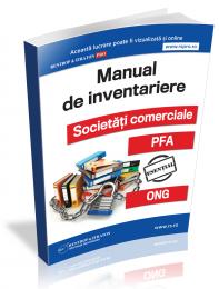 Manual de inventariere. Societati comerciale. PFA. ONG - varianta tiparita