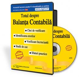 CD Totul despre balanta contabila. Chei de verificare, sfaturi practice, exemple