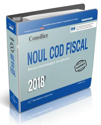 Consilier Noul Cod Fiscal si Normele metodologice de aplicare 2018
