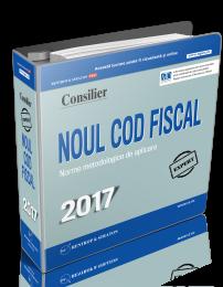 Consilier Noul Cod Fiscal si Normele metodologice de aplicare 2017