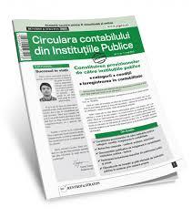 Circulara Contabilului din Institutiile Publice