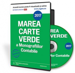 CD Marea Carte verde a Monografiilor contabile 2016
