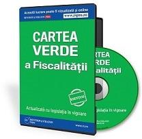 CD Cartea Verde a Fiscalitatii
