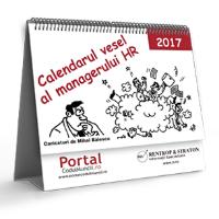 Calendarul Vesel al Managerului HR 2017 - 1 buc.