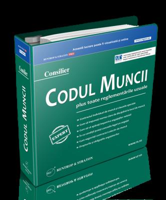 Consilier - Codul Muncii   abonament 12 actualizari