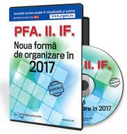 PFA. II. IF. Noua forma de organizare in 2017.