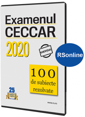 Examenul CECCAR 2020  100 de Subiecte rezolvate