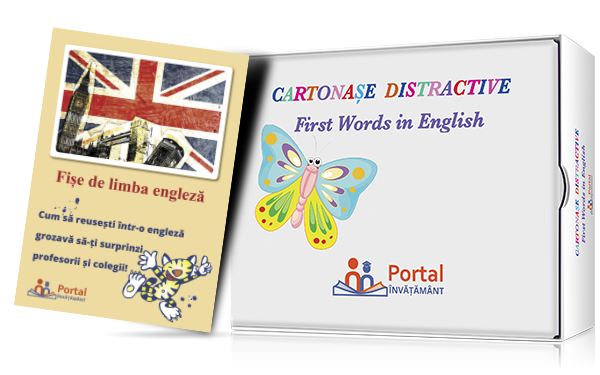 Cartonase distractive: First words in English