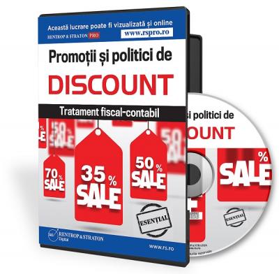 CD Promotii si politici de discount. Tratament fiscal-contabil