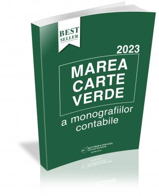 Marea Carte Verde a Monografiilor Contabile 2020  var tiparita