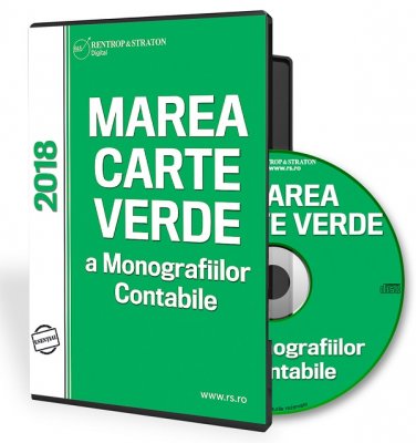 CD Marea Carte Verde a Monografiilor Contabile 2018