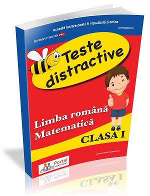 Teste distractive de Limba romana si Matematica pentru clasa I