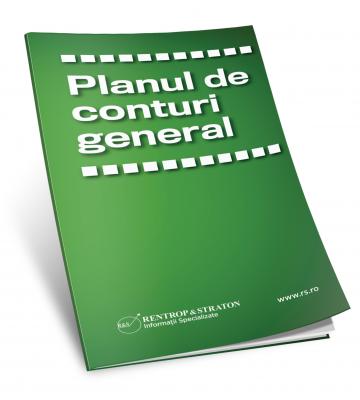 Brosura Planul de conturi general pentru societati comerciale