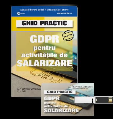 Ghid practic GDPR pentru activitatile de salarizare