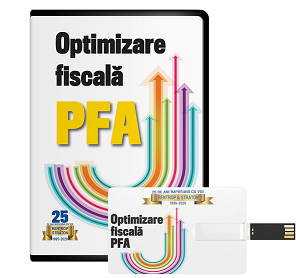 Optimizare fiscala PFA