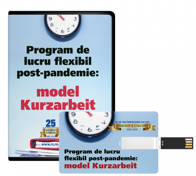 Program de lucru flexibil post-pandemie  Model Kurzarbeit