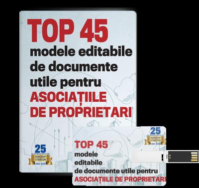 Top 45 documente utile pentru Asociatiile de Proprietari