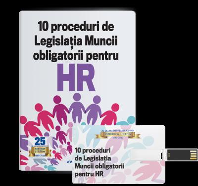 10 proceduri de legislatia muncii obligatorii pentru HR