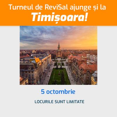 Atelierul de ReviSal - Timisoara, 5 octombrie