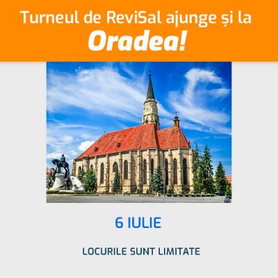 Atelierul de ReviSal - Oradea, 6 iulie