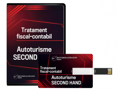 Autoturisme SECOND HAND. Tratament fiscal-contabil