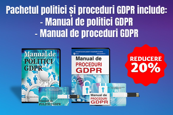 Pachet politici si proceduri GDPR