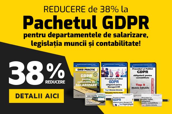 Pachet GDPR - REDUCERE 38%