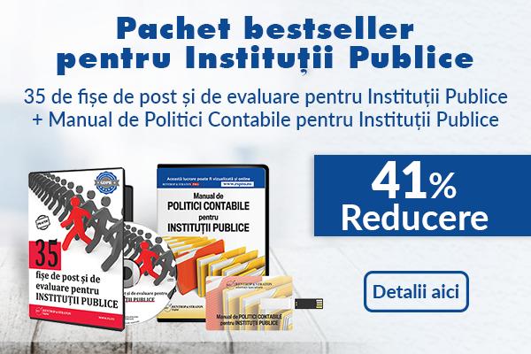 Pachet bestseller pentru Institutii Publice