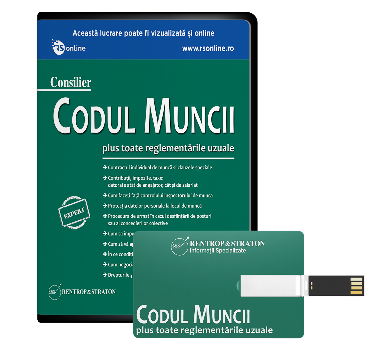 Consilier Codul Muncii - Varianta Stick