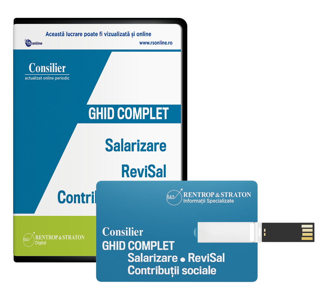 Consilier Ghid complet de Salarizare, ReviSal si Contributii sociale