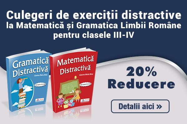 Culegeri de exercitii clasele III-IV - Reducere 20%